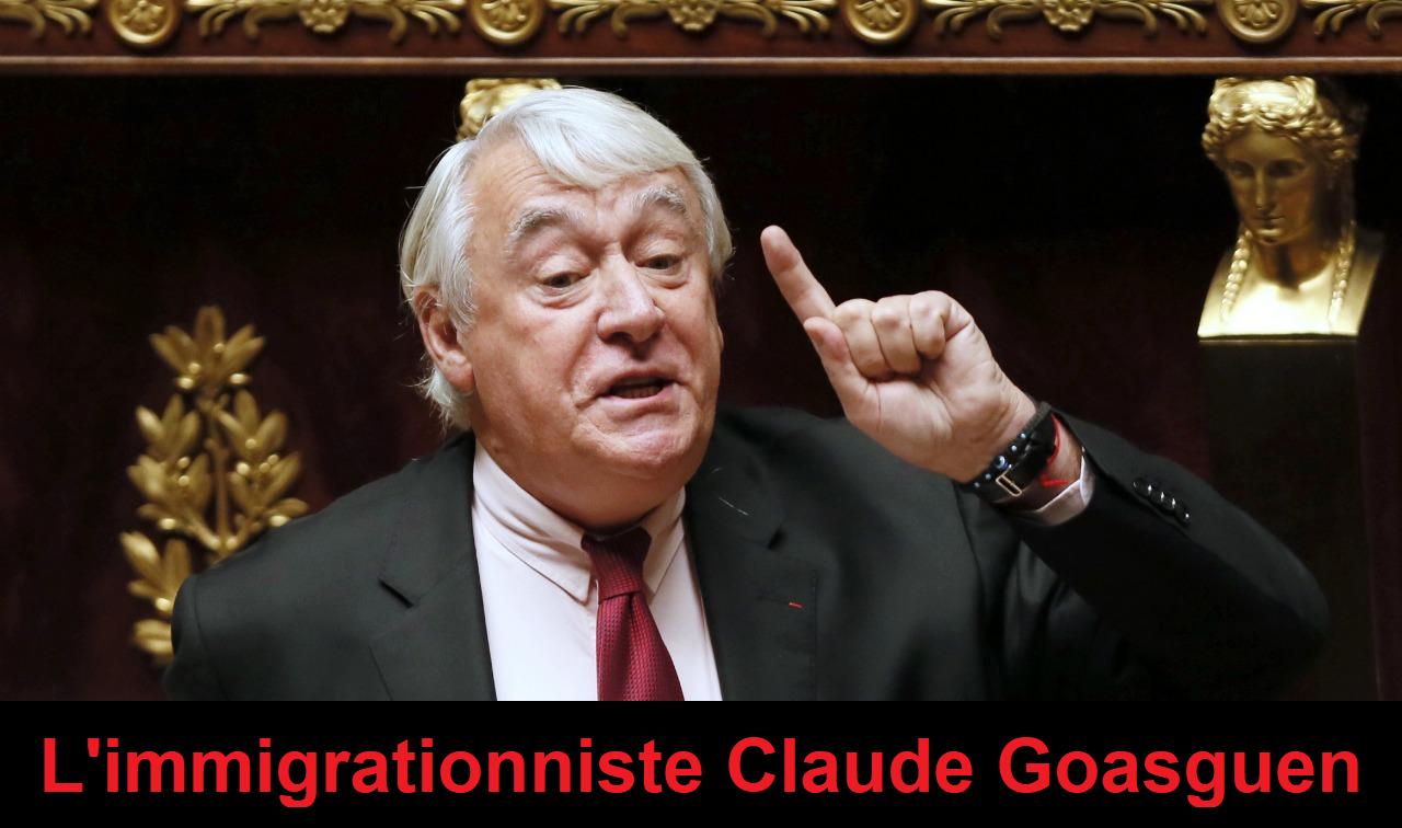 Claude Goasguen : mort d'un faux-cul de LR qui nous a trahis