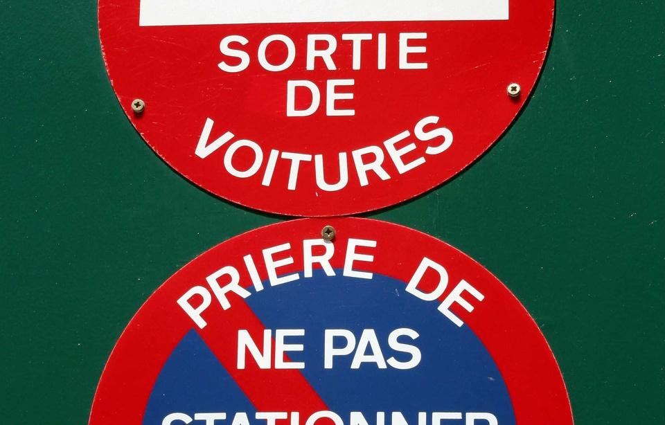 Les juges ont tranch 135 euros d amende si vous vous for Stationnement devant garage sans panneau