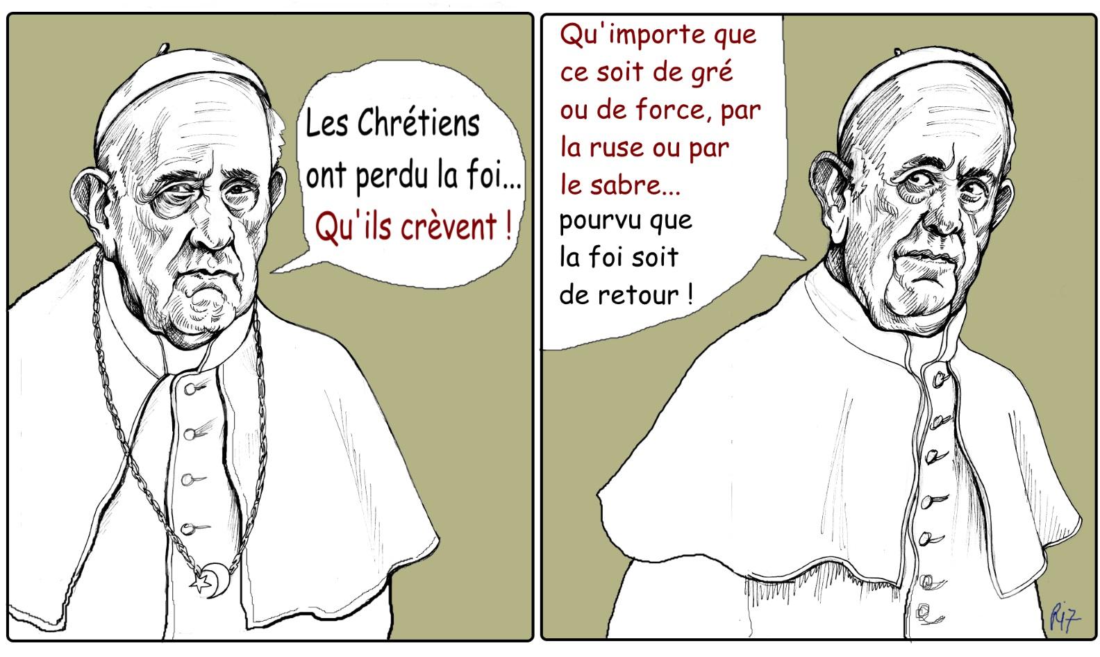 Tais-toi, Bergoglio !