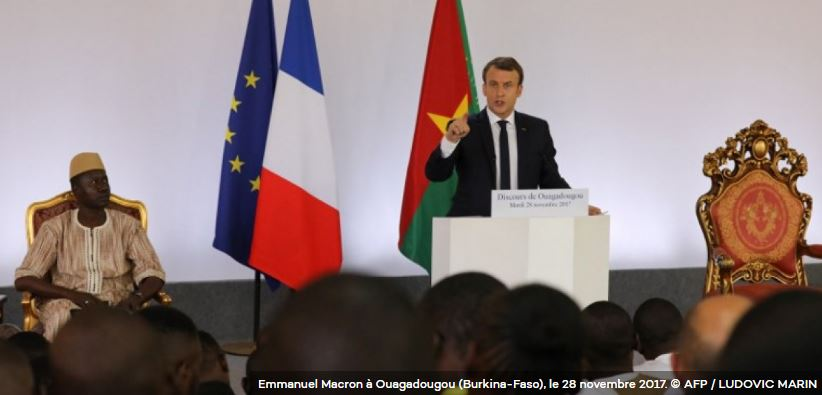 Burkina : j'ai trouvé Macron excellent !