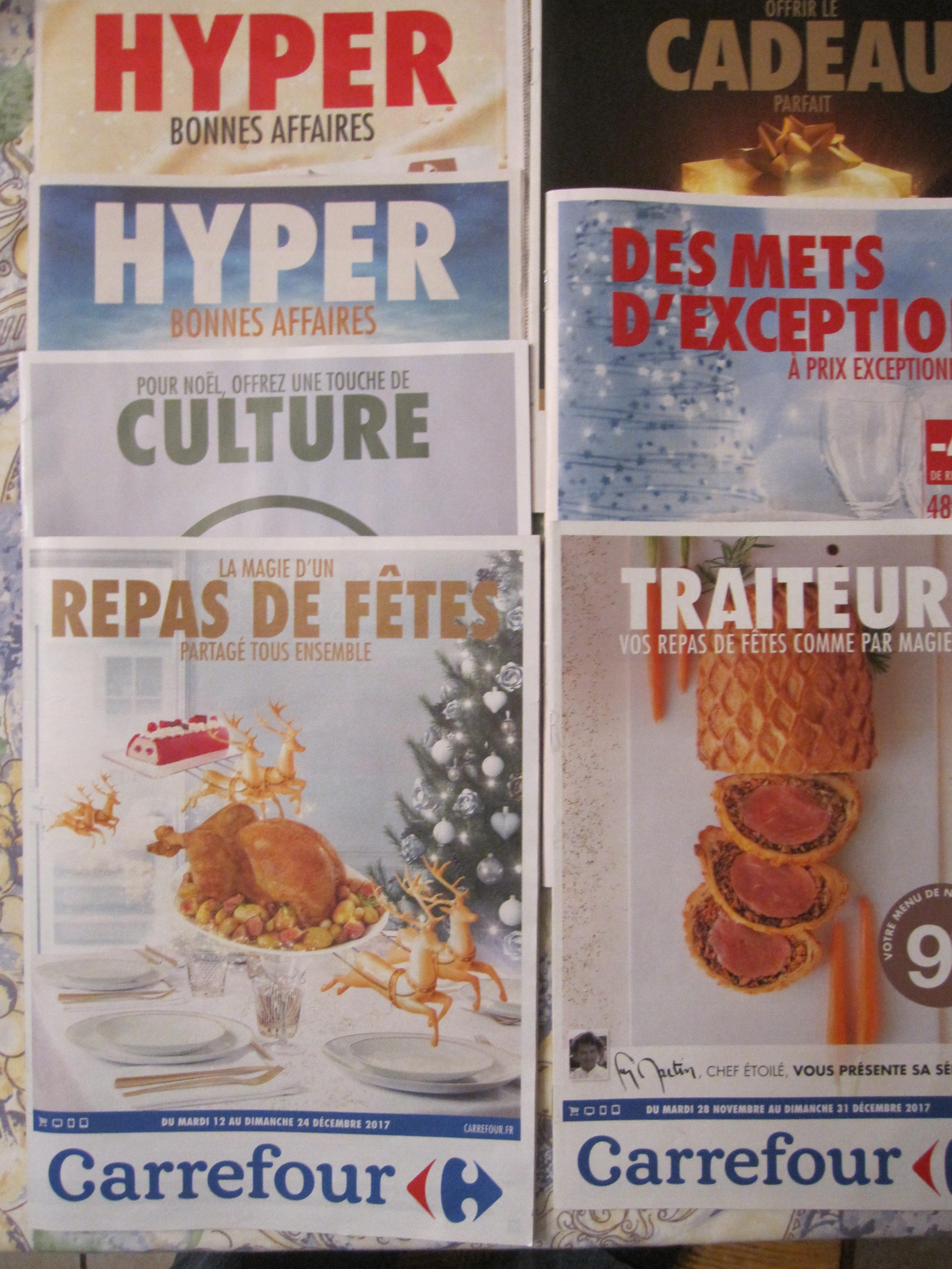 catalogue traiteur noel 2018 carrefour Carrefour n'ose pas afficher Noël dans ses catalogues, par contre  catalogue traiteur noel 2018 carrefour
