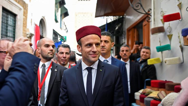 macron invente la propagande fake news franco tunisienne pour se faire mousser riposte la que. Black Bedroom Furniture Sets. Home Design Ideas