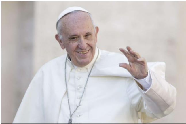 Pour le taré du Vatican, la piquouze, c'est un acte d'amour !