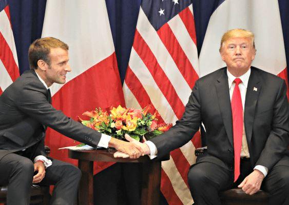 Macron va avoir bonne mine, quand Trump va être proclamé vainqueur