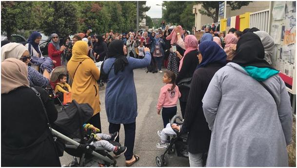 Les propos de Macron préparent la prolifération des voiles dans nos rues
