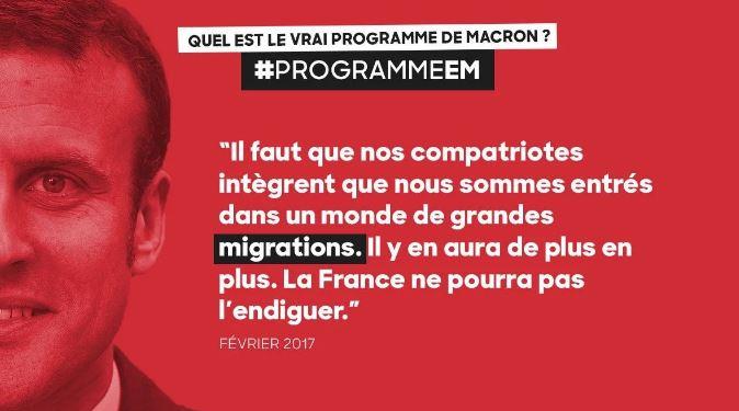 Avec Macron, 300 000 déboutés du droit d'asile toujours en France !