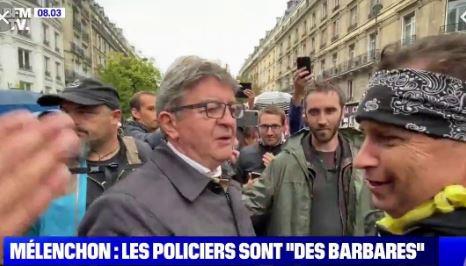 Policier tué par des dealers à Avignon : contents, Méluche et les anars ?