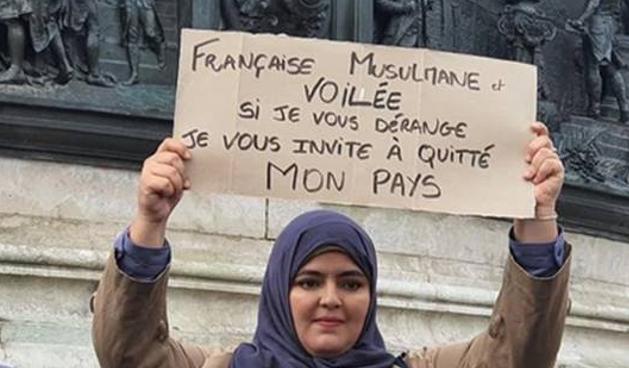 Se préparer à une guerre civile - Page 4 Francaise-musulmane-voilee