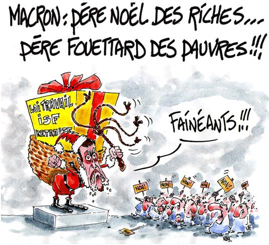 Macron a encore oublié de nous souhaiter un joyeux Noël