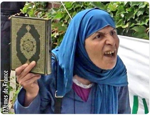 La loi d'Allah va enfin dominer la France
