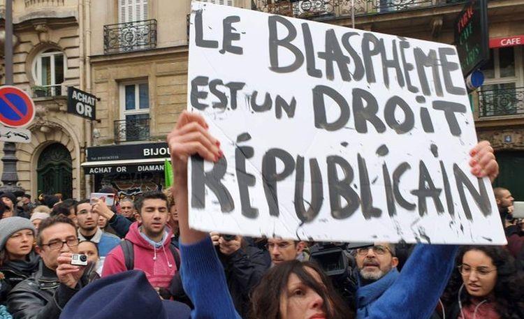 Luttons pour repousser les islamistes hors de France, blasphémons !