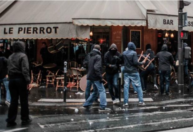 Les antifas de Macron avouent saboter les manifs contre le pass sanitaire
