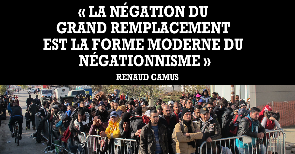 Antonin Campana : Grand Remplacement, il faut choisir son camp !