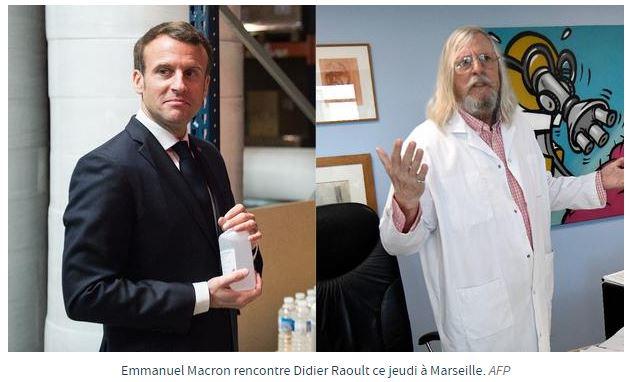 Macron lance la chasse à l'homme contre Raoult