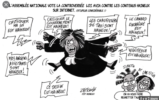 Les évêques de France réclament l'application de la loi Avia