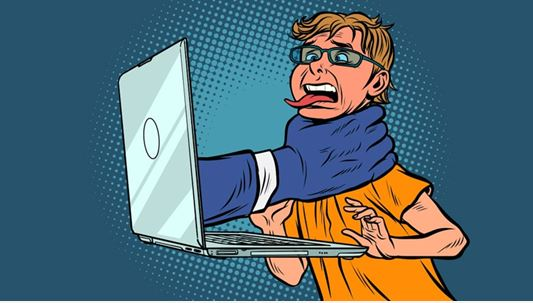 J'ai ricané sur un écrivain bobo niqué par un clando : virée de Facebook !