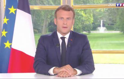 Macron à la télé, c'est de la com' de music-hall