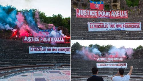 Justice pour Axelle : Génération Identitaire sauve encore l'honneur…