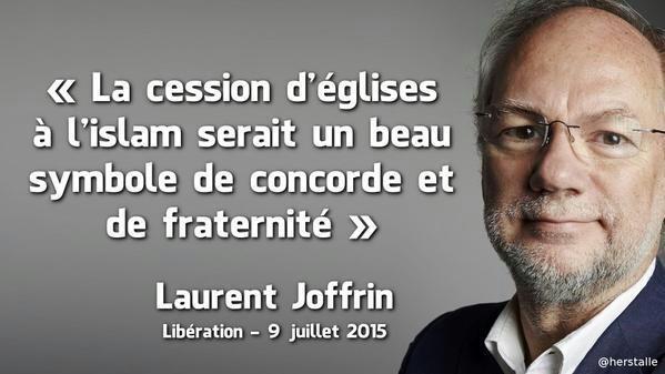 Joffrin l'ex-socialiste bobo à la ramasse fait campagne pour Macron
