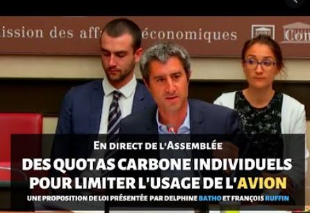 Quota carbone ou remigration, Ruffin ?