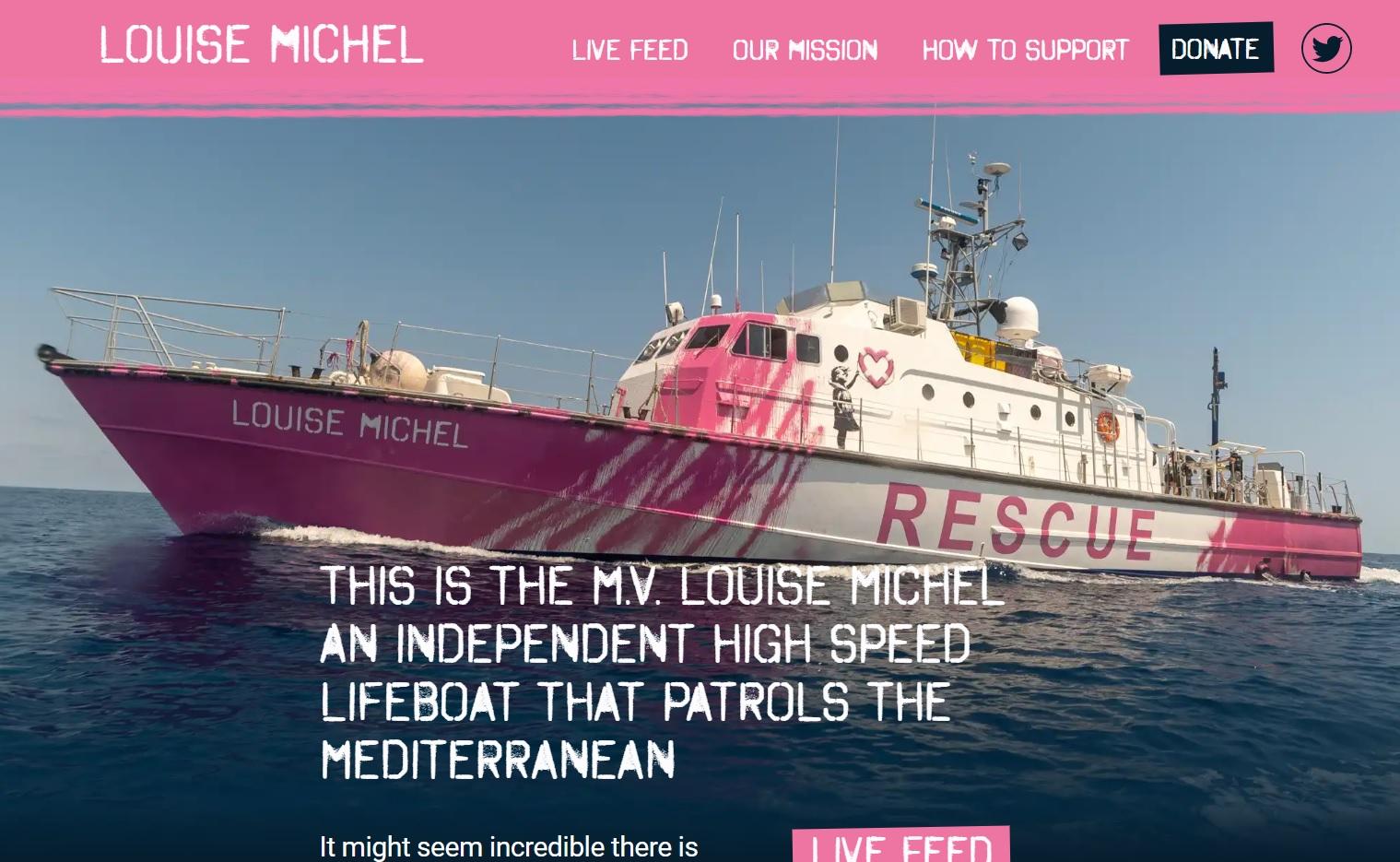 Le bateau négrier à clandos Louise-Michel appelle à l'aide!