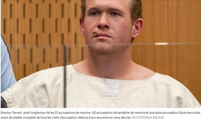 Brenton Tarrant face à une justice qui veut le faire taire