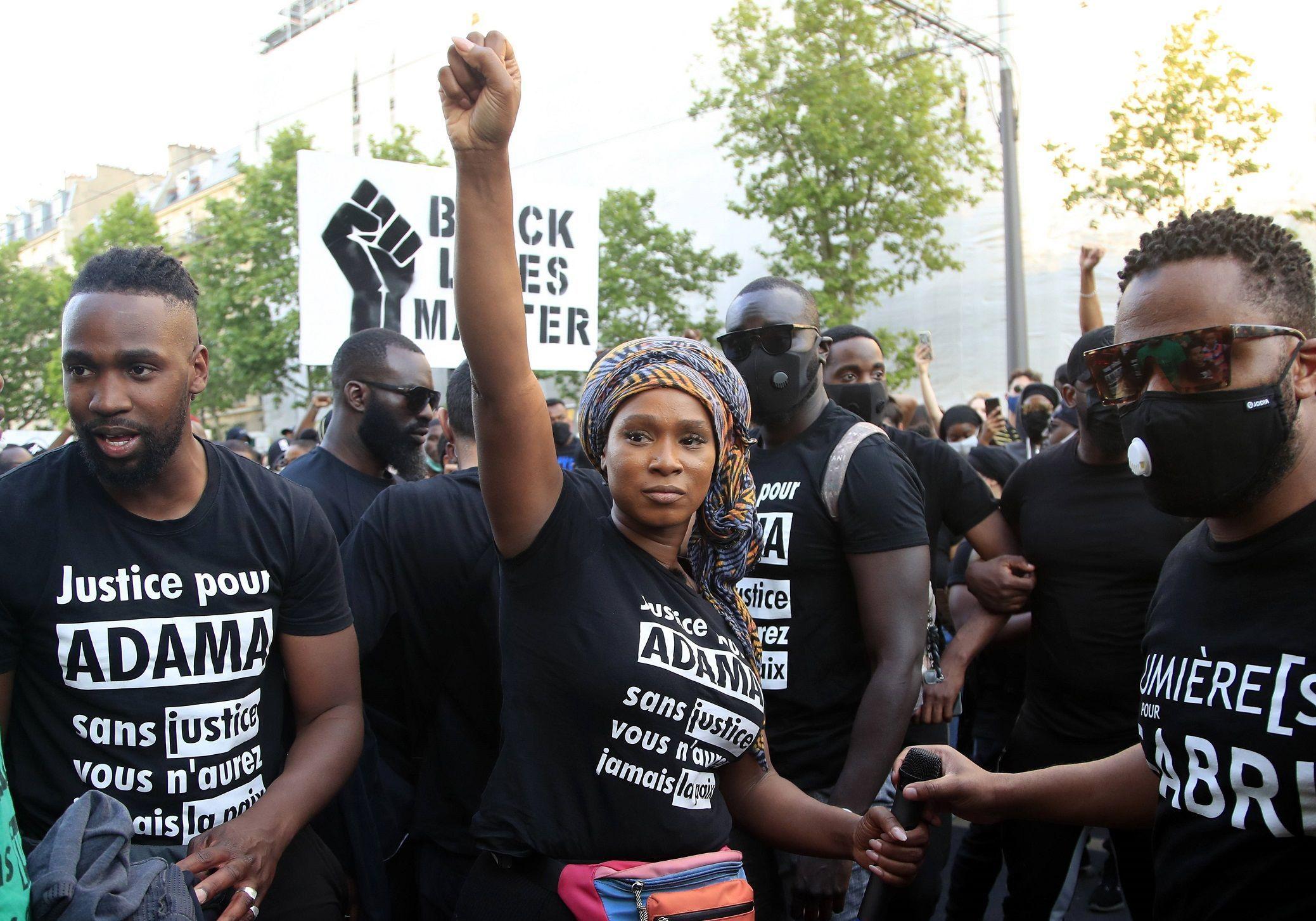 M6 fait la promotion de Black Lives Matter