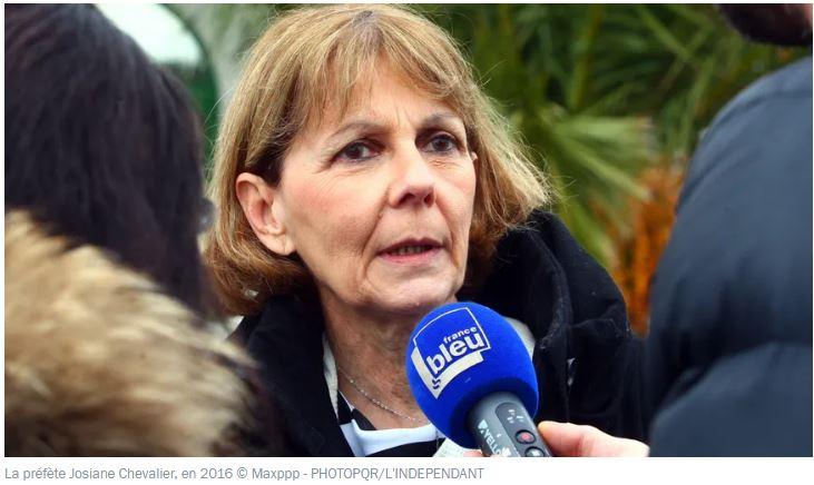 Josiane Chevalier, préfète de Strasbourg, décide de masquer tout le monde !