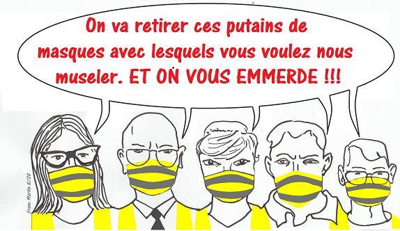 Dictature sanitaire de Macron : les sans-masques, nouveaux Gilets jaunes ?