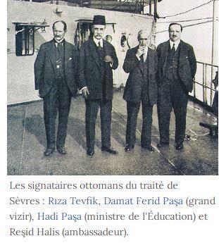 Traité de Sèvres, défaite des Ottomans : un centenaire oublié