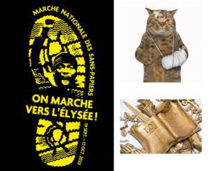 Aux actes citoyens : intolérable marche des clandestins (1)