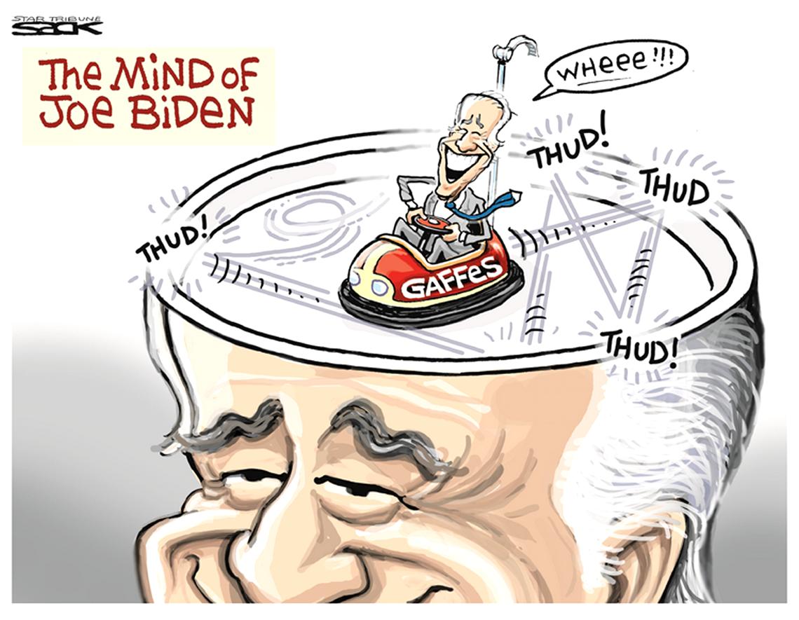Série: Joe Biden – une machine à gaffes (8)