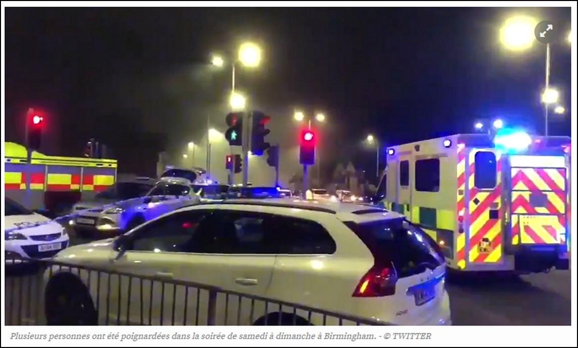 1 mort et 12 blessés dans de nouvelles attaques au couteau en Angleterre : chut !