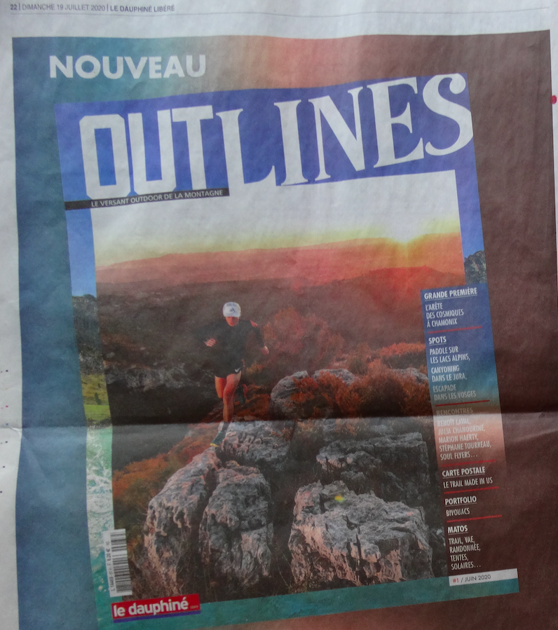 """Le Dauphiné Libéré remplace """"Alpes Loisirs"""" par """"Outlines"""""""