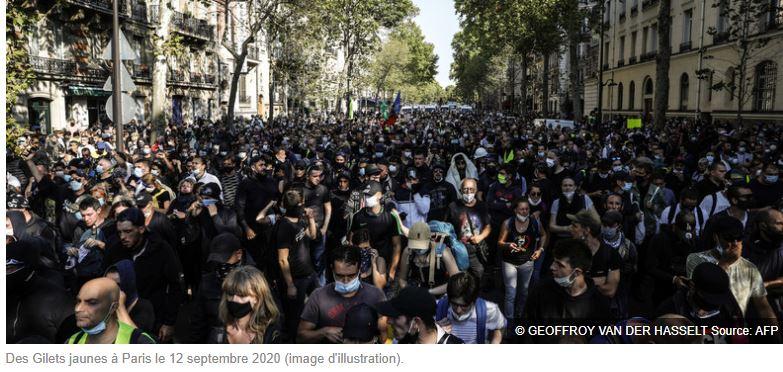 Gilets jaunes : des rebelles apprivoisés qui portent le masque