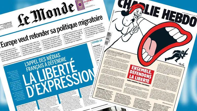 L'arnaque de la mobilisation médiatique pour la liberté d'expression…
