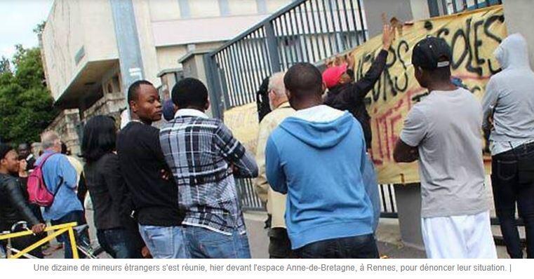 Rennes est une ville dangereuse… pour les Blancs, n'en déplaise au journaleux Mollé