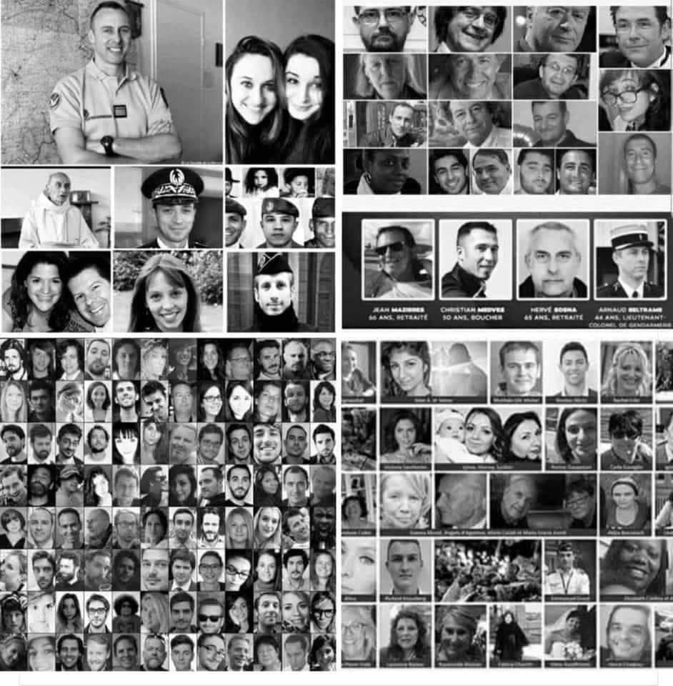 Hommages assassins aux victimes de l'islam
