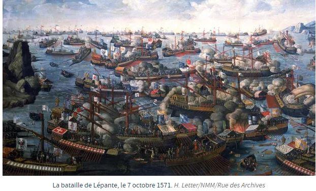 Lépante, victoire chrétienne contre les Turcs ottomans : il y a 549 ans…