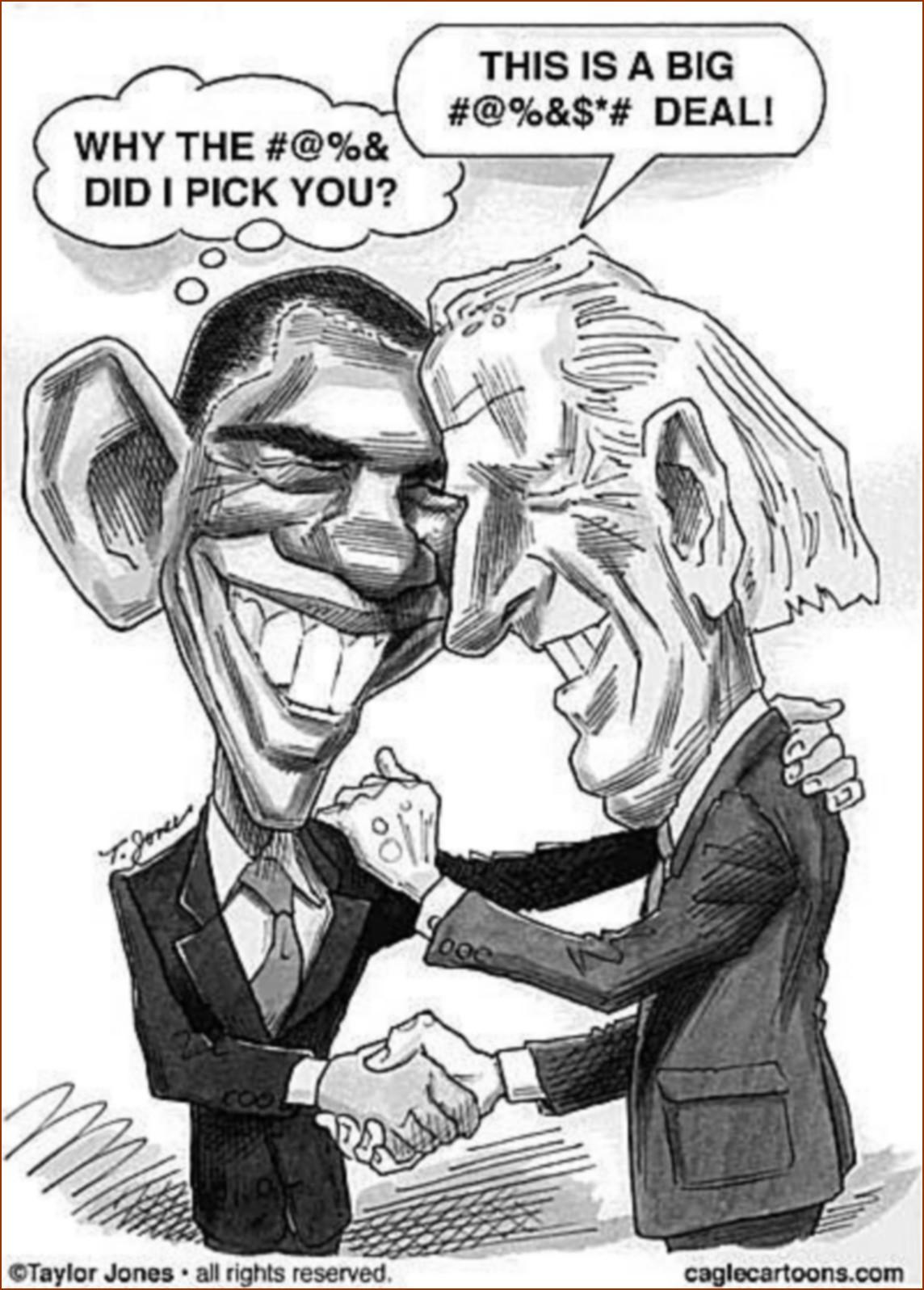 Série : Joe Biden renie l'héritage de Barack Obama (10)