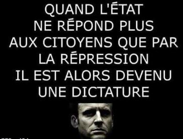 La démocratie s'éloigne, la dictature approche…