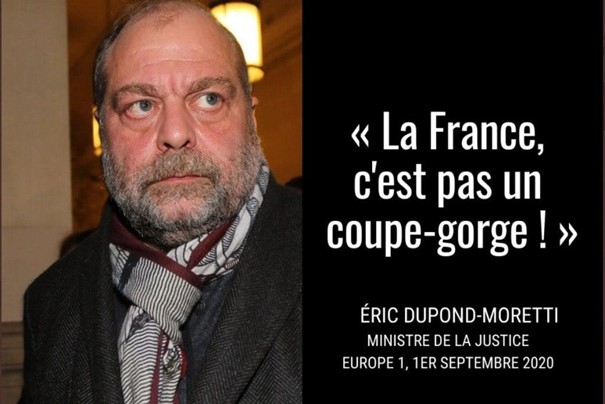 Négationnisme : ces assassinats de Français que Dupond-Moretti occulte