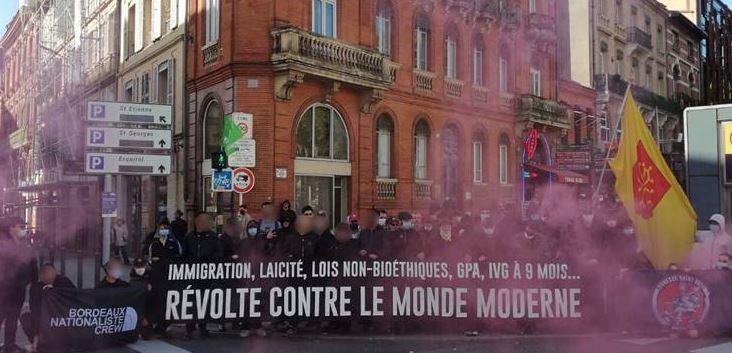 Toulouse: la diagonale du sud de la Manif Pour Tous