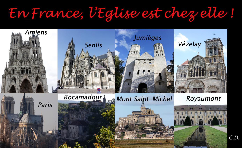 La France est avant tout un peuple de religion chrétienne