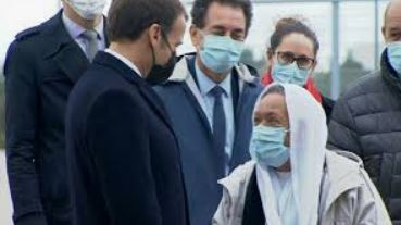 Macron s'est fait enfler : il a casqué pour Sophie, on lui a refilé la muzz Mariam !