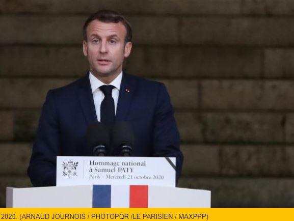 Le très beau discours du Président Macron