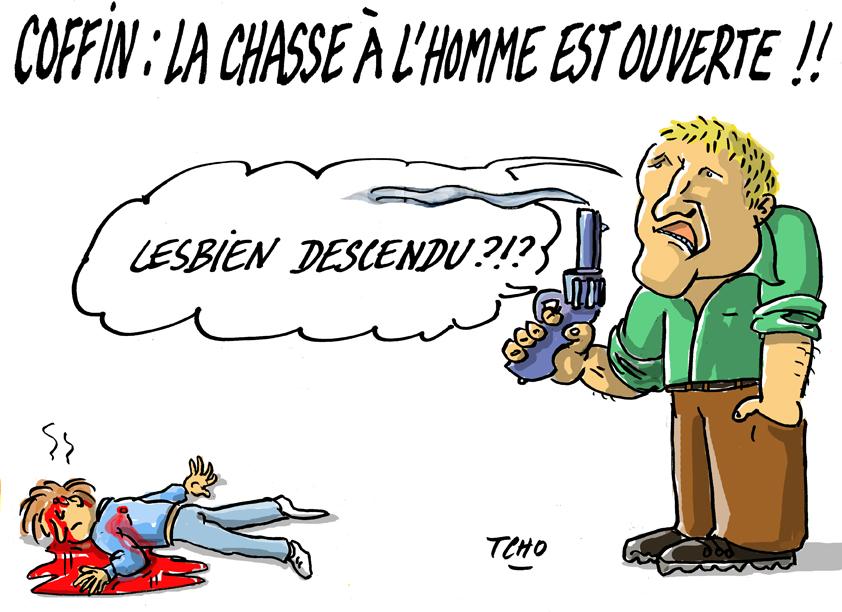 Macias, Depardieu, Coffin : trois comiques qui s'ignorent