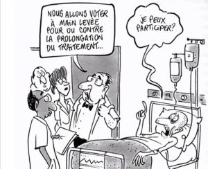 Le choix entre deux patients, ou comment mieux tuer les Français ?