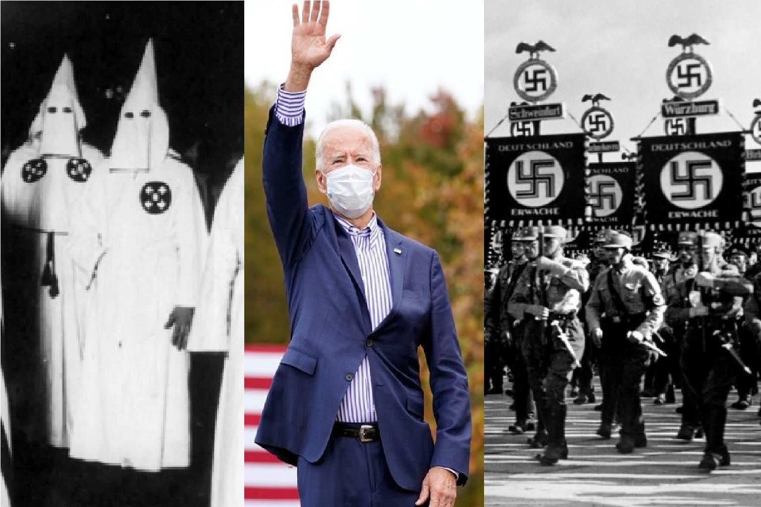 États-Unis: les néo-nazis détestent Trump et soutiennent Biden !