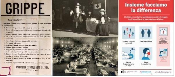 Il y a 100 ans, lors de la grippe espagnole, pas d'interdictions…